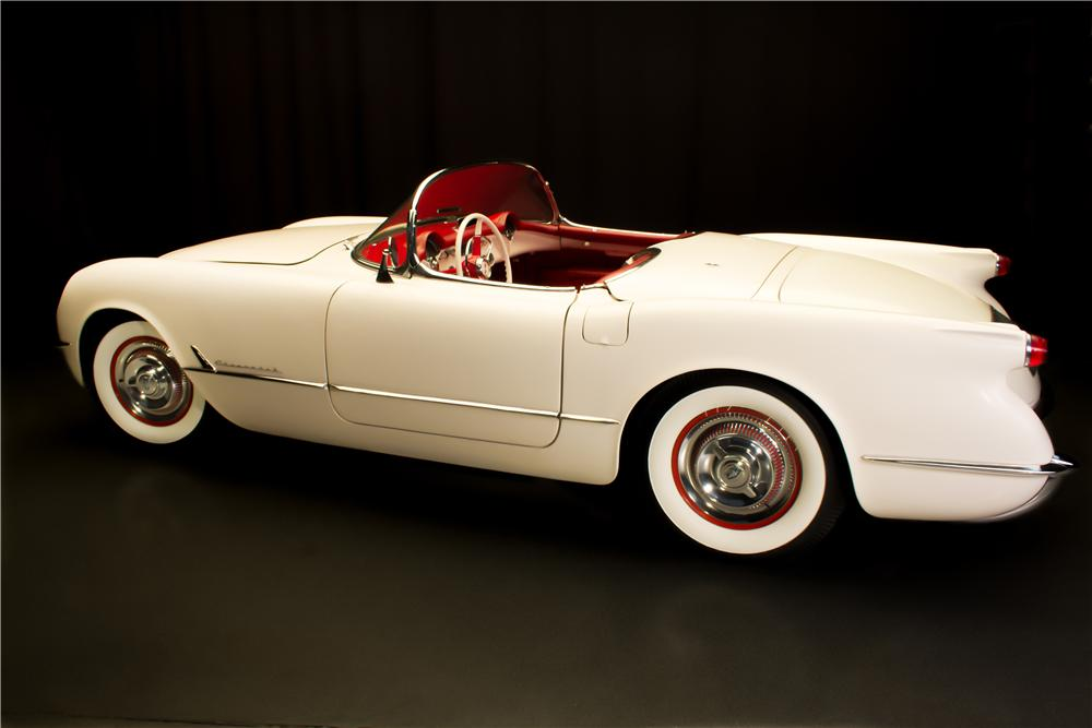 1953 CHEVROLET CORVETTE CONVERTIBLE - Side Profile - 161296