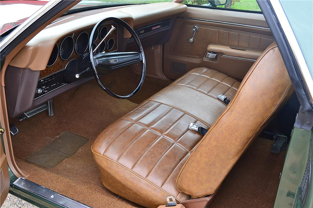 1972 FORD RANCHERO GT PICKUP - Interior - 161303