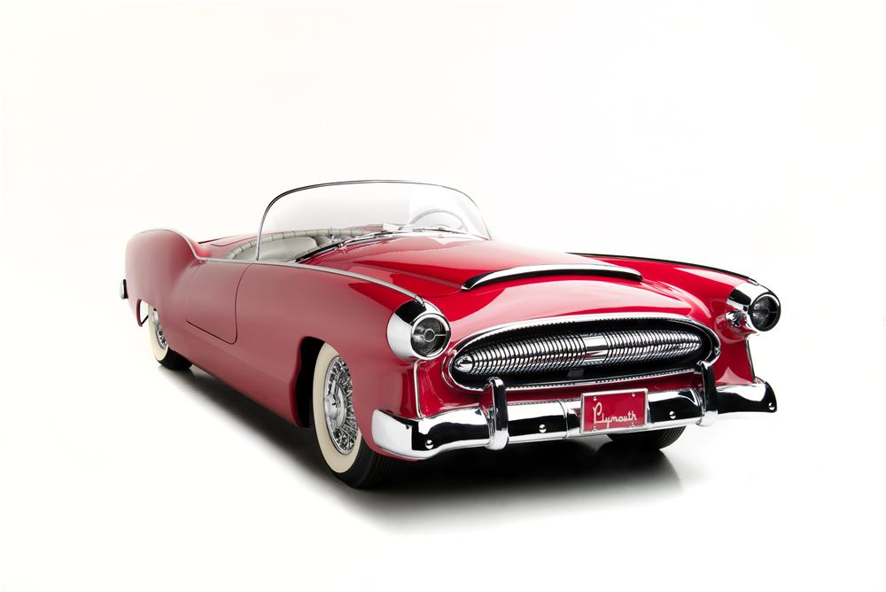 1954 PLYMOUTH BELMONT CONVERTIBLE - Front 3/4 - 161305