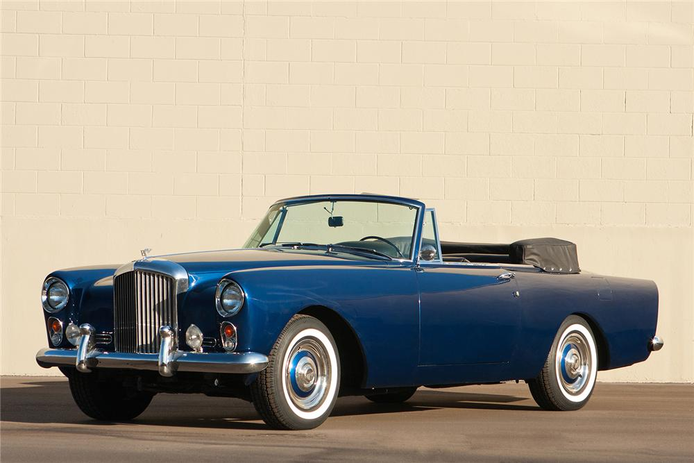 1962 BENTLEY S-2 CONVERTIBLE - Front 3/4 - 161307