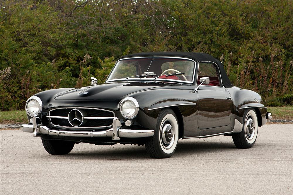 1959 MERCEDES-BENZ 190SL CONVERTIBLE - Front 3/4 - 161308