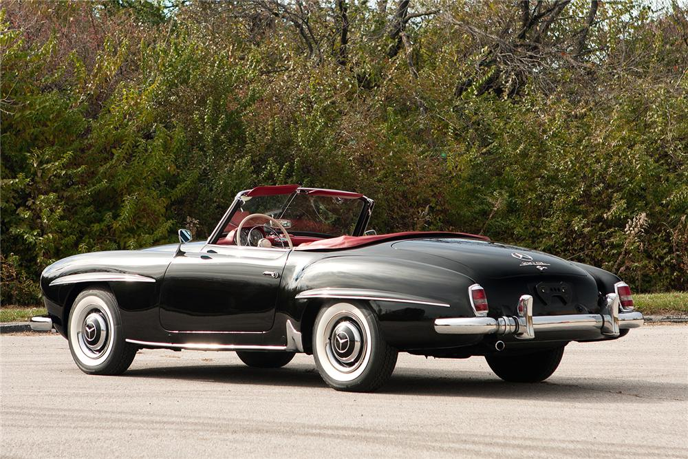 1959 MERCEDES-BENZ 190SL CONVERTIBLE - Side Profile - 161308