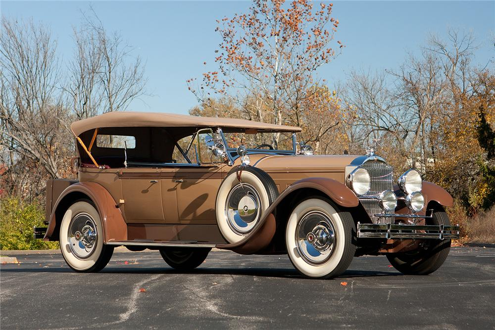 1929 PACKARD CUSTOM EIGHT PHAETON - Side Profile - 161309