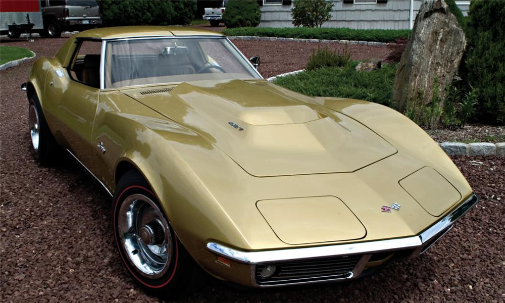 1969 CHEVROLET CORVETTE L88 COUPE - Front 3/4 - 16131