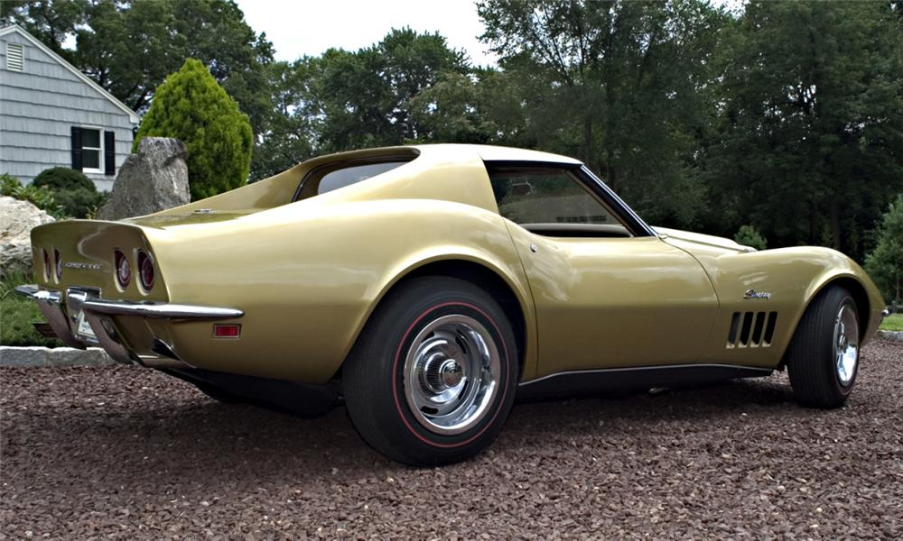 1969 CHEVROLET CORVETTE L88 COUPE - Rear 3/4 - 16131