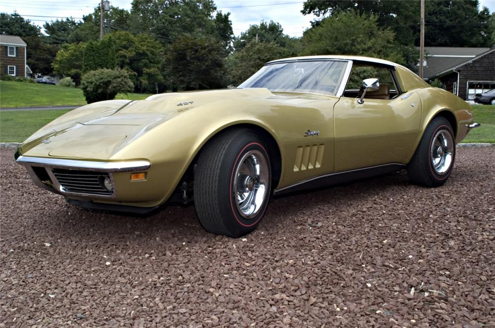 1969 CHEVROLET CORVETTE L88 COUPE - Side Profile - 16131