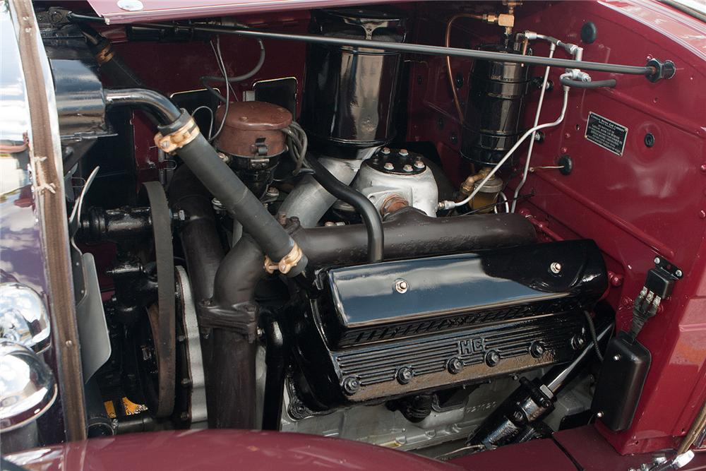 1931 CADILLAC 355 A CONVERTIBLE - Engine - 161310