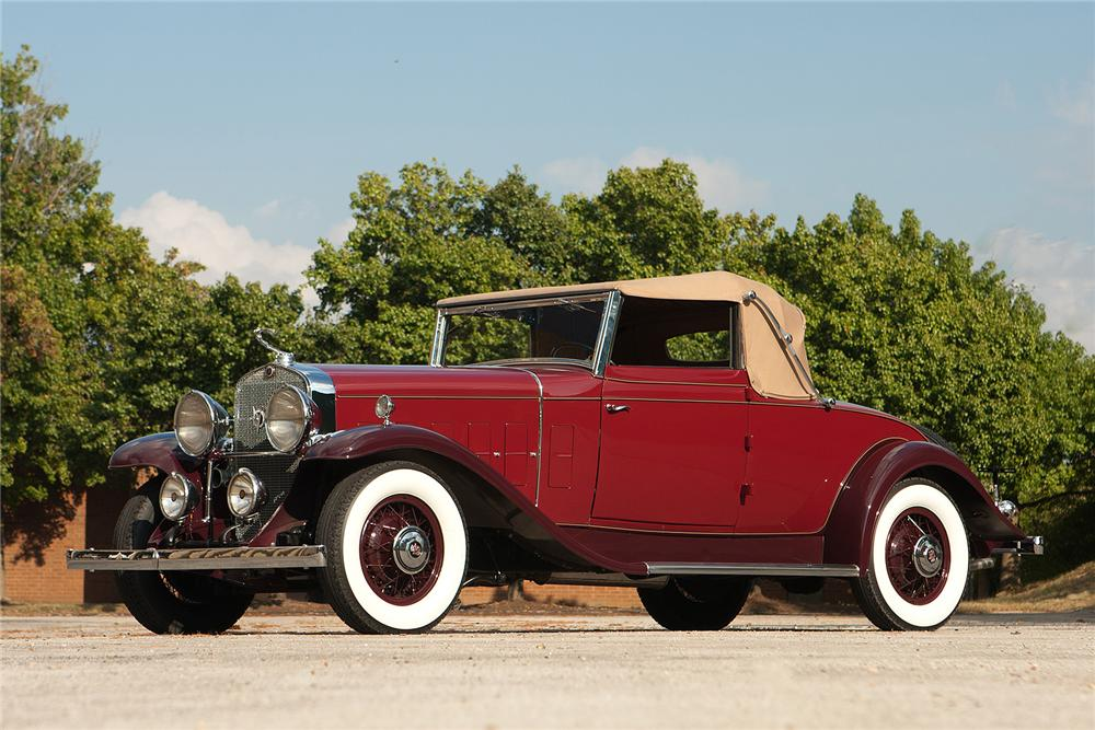 1931 CADILLAC 355 A CONVERTIBLE - Side Profile - 161310