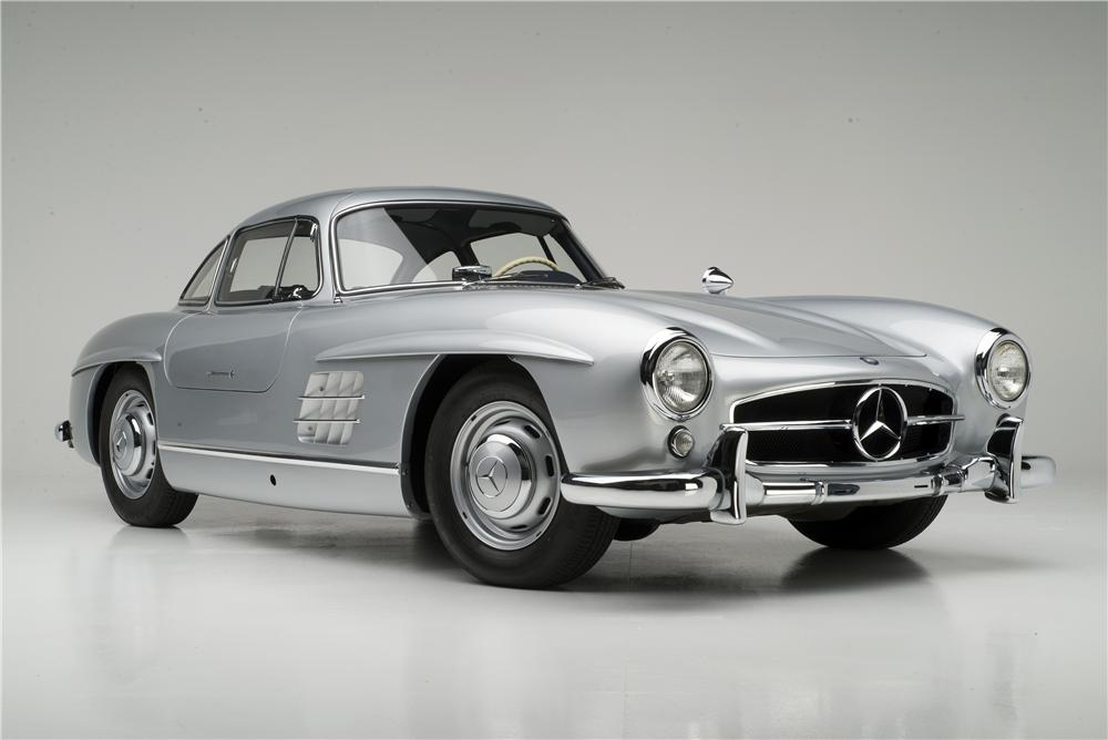 1955 MERCEDES-BENZ 300SL GULLWING COUPE - Front 3/4 - 161313