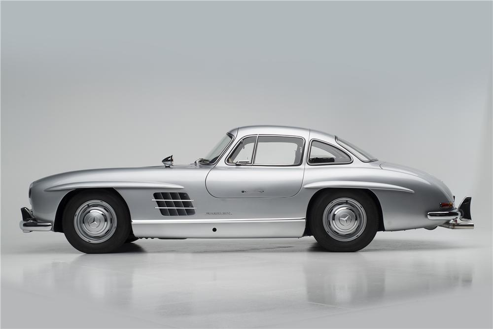 1955 MERCEDES-BENZ 300SL GULLWING COUPE - Side Profile - 161313