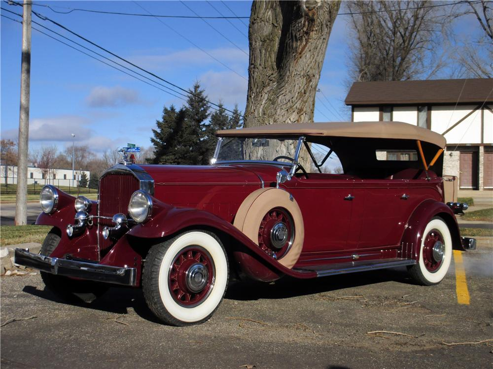 1931 PIERCE-ARROW MODEL 41 SEVEN PASSENGER TOURING - Front 3/4 - 161317