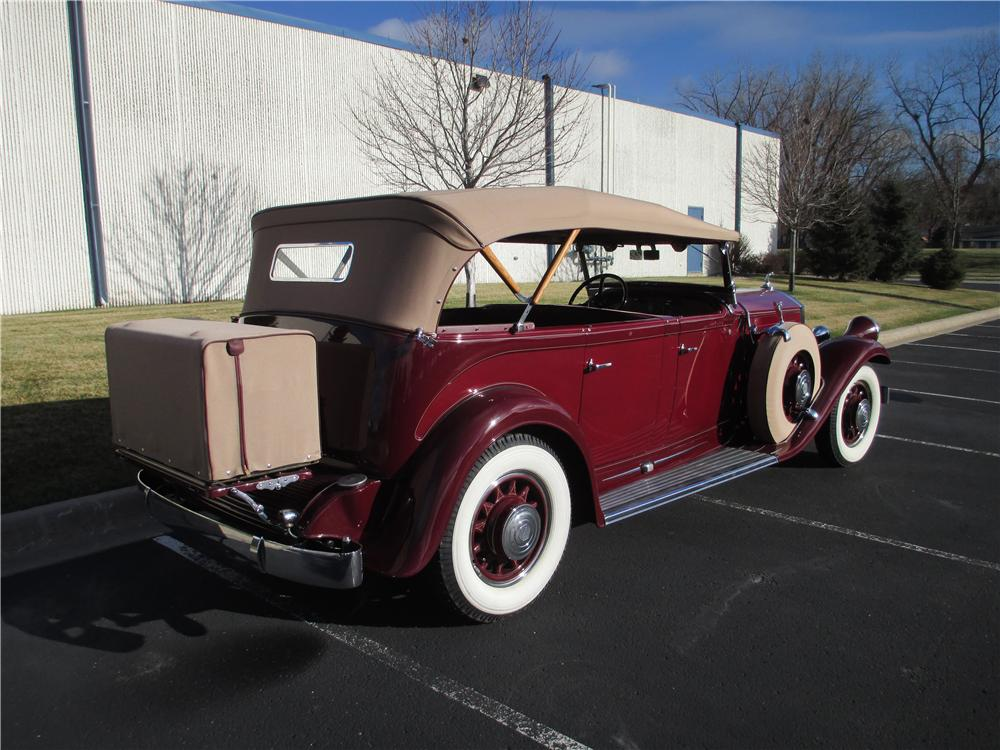 1931 PIERCE-ARROW MODEL 41 SEVEN PASSENGER TOURING - Rear 3/4 - 161317