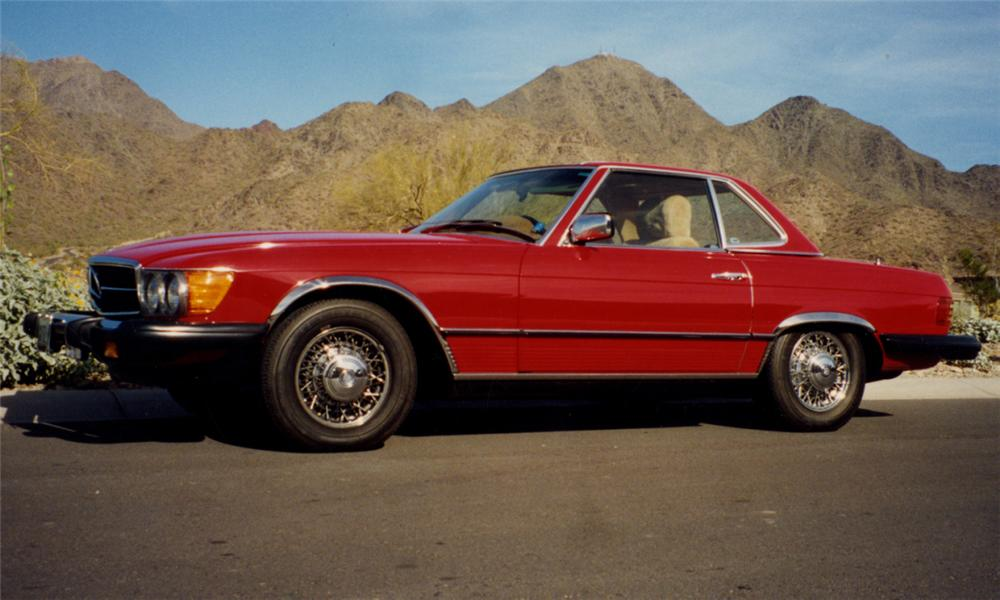 1983 MERCEDES-BENZ 380SL CONVERTIBLE - Side Profile - 16132