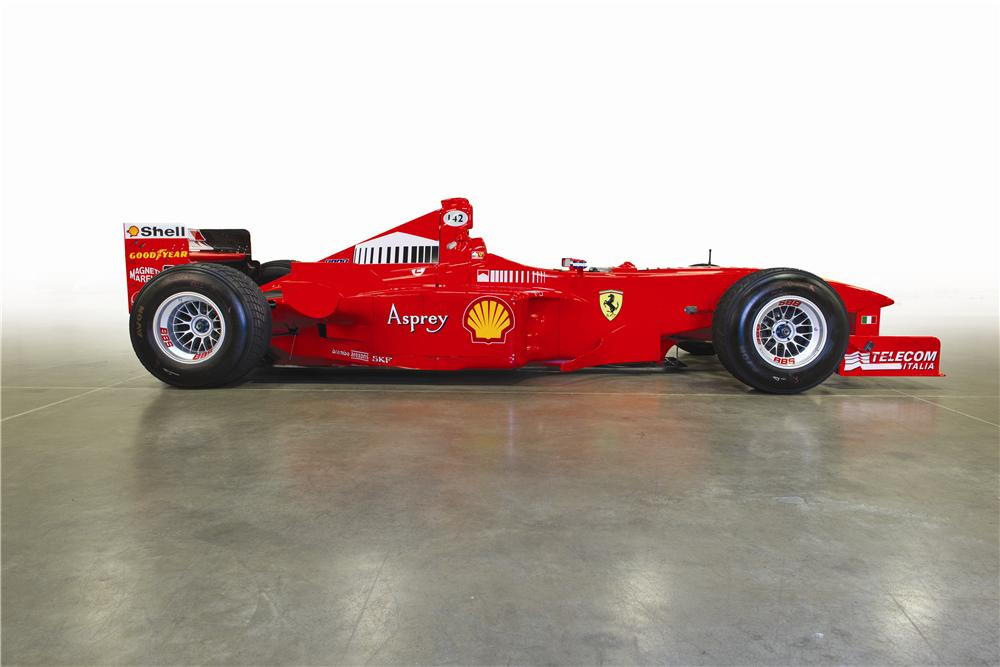 1998 FERRARI F300  - Side Profile - 161324