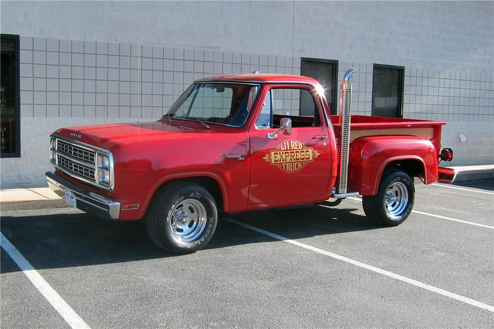 1979 DODGE LIL RED EXPRESS PICKUP - Front 3/4 - 161326