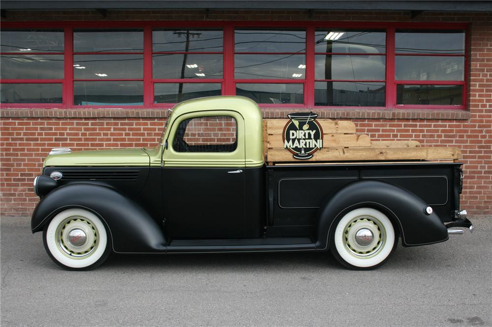 1939 FORD PICKUP - Side Profile - 161333