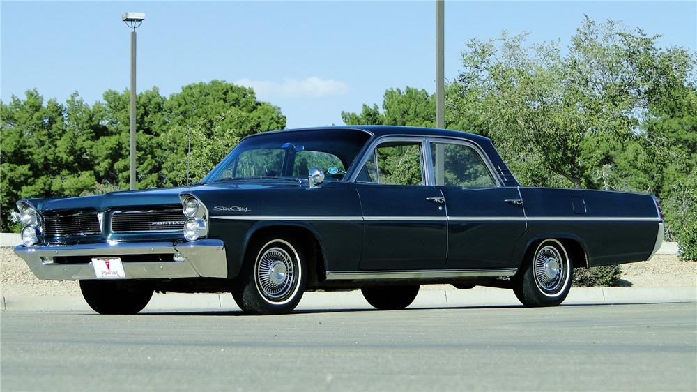 1963 PONTIAC STAR CHIEF 4 DOOR SEDAN - Front 3/4 - 161339