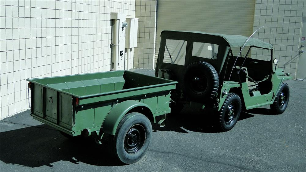 1968 FORD M151 MILITARY UTILITY TACTICAL TRUCK - Rear 3/4 - 161343