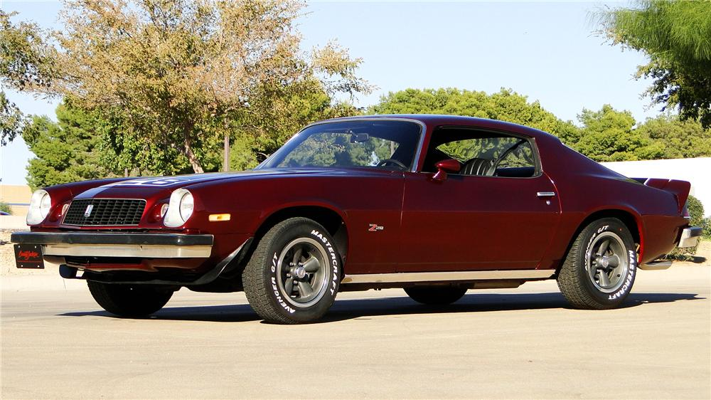 1974 CHEVROLET CAMARO Z/28 2 DOOR COUPE - Front 3/4 - 161345