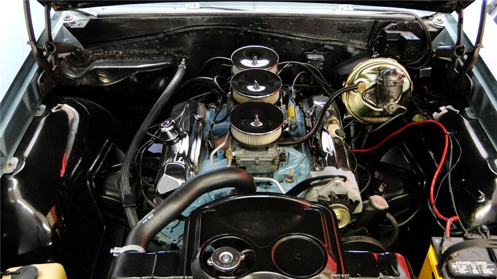 1965 PONTIAC GTO CONVERTIBLE - Engine - 161350