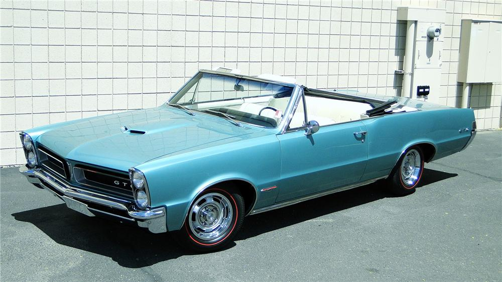 1965 PONTIAC GTO CONVERTIBLE - Side Profile - 161350