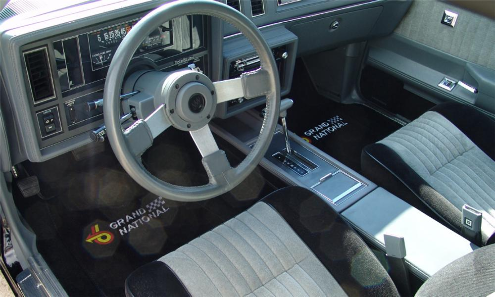 1987 buick regal grand national coupe 16136 - 1987 buick grand national interior ...