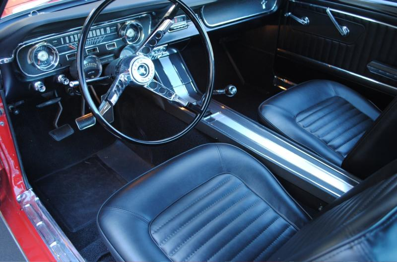 1965 FORD MUSTANG FASTBACK - Interior - 161361