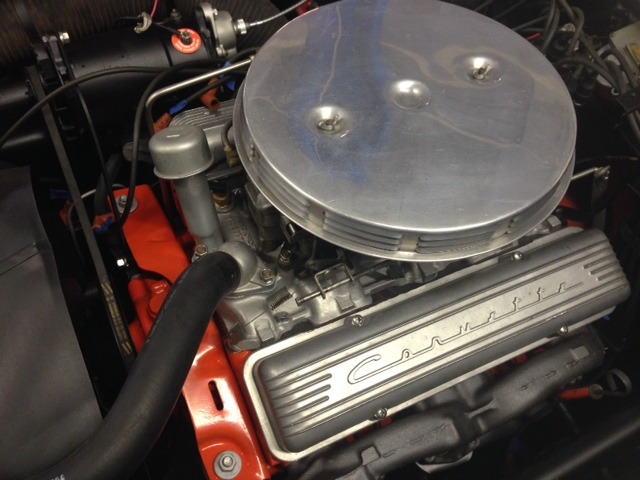 1958 CHEVROLET CORVETTE CONVERTIBLE - Engine - 161364