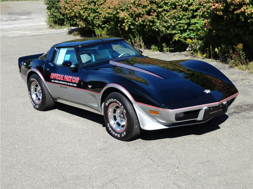 1978 CHEVROLET CORVETTE INDY PACE CAR - Front 3/4 - 161377