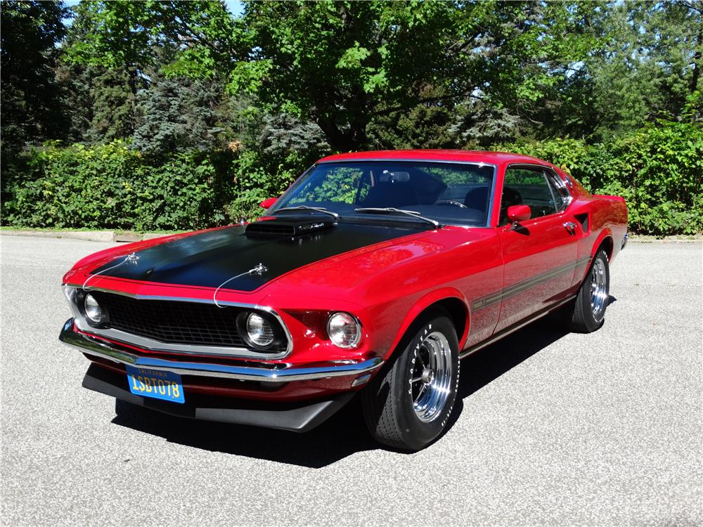 1969 ford mustang mach 1 428 cj fastback 161378. Black Bedroom Furniture Sets. Home Design Ideas