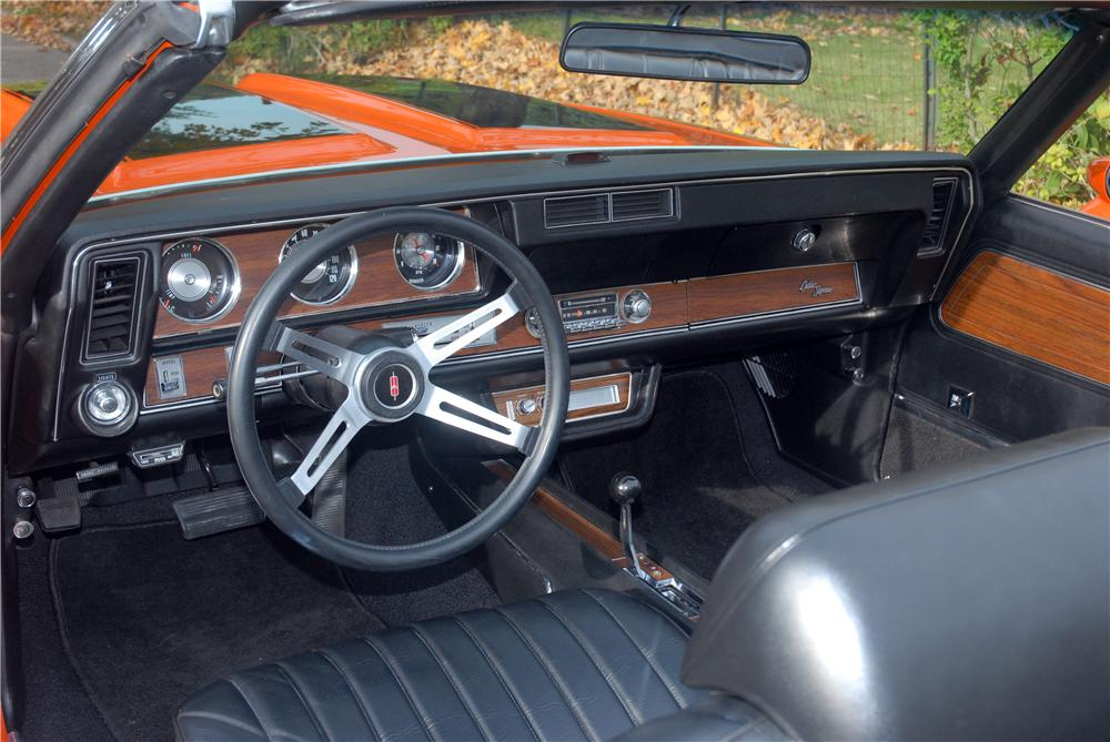 1972 OLDSMOBILE 442 W30 CONVERTIBLE - Interior - 161380