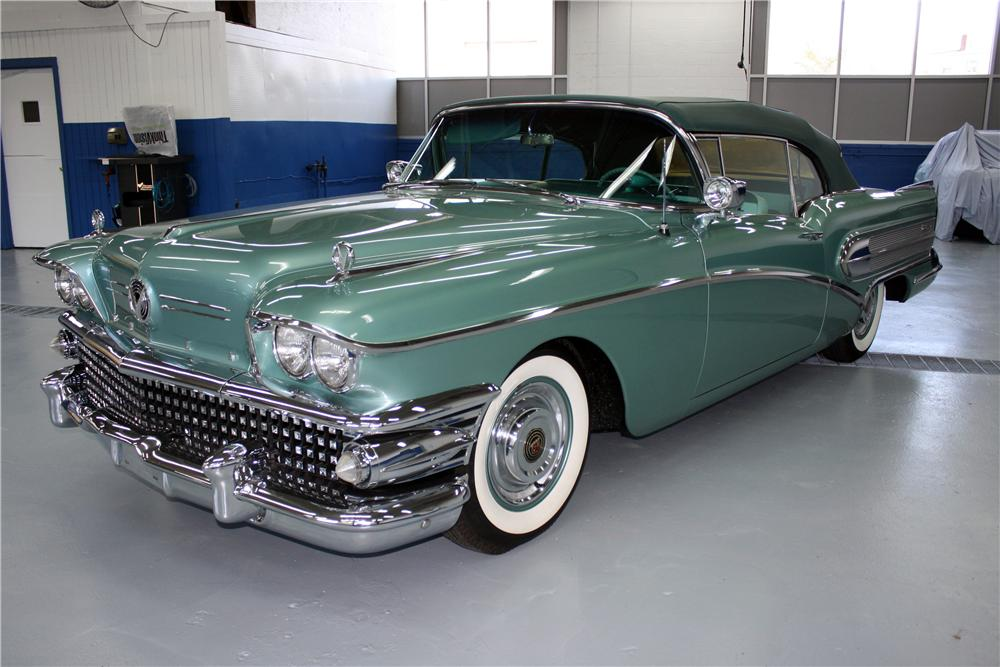 Cars For Sale In Arizona >> 1958 BUICK CENTURY CONVERTIBLE - 161381