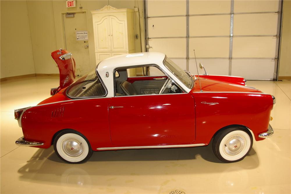 1969 GOGGOMOBIL TS-250 COUPE - Front 3/4 - 161382
