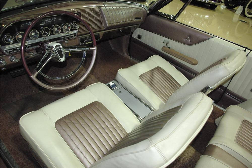 1962 DODGE POLARA 500 CONVERTIBLE - Interior - 161383