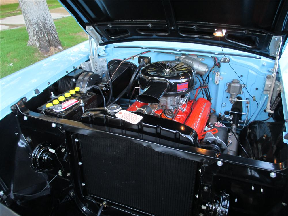 1957 CHEVROLET BEL AIR CONVERTIBLE - Engine - 161384
