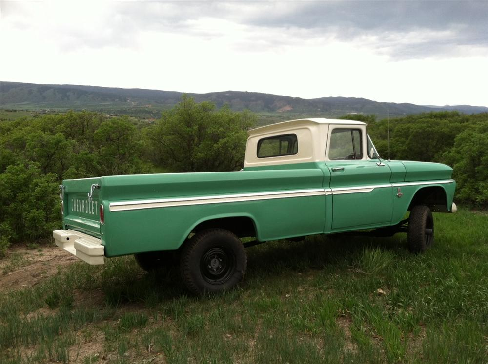 1963 CHEVROLET K10 PICKUP - Rear 3/4 - 161388