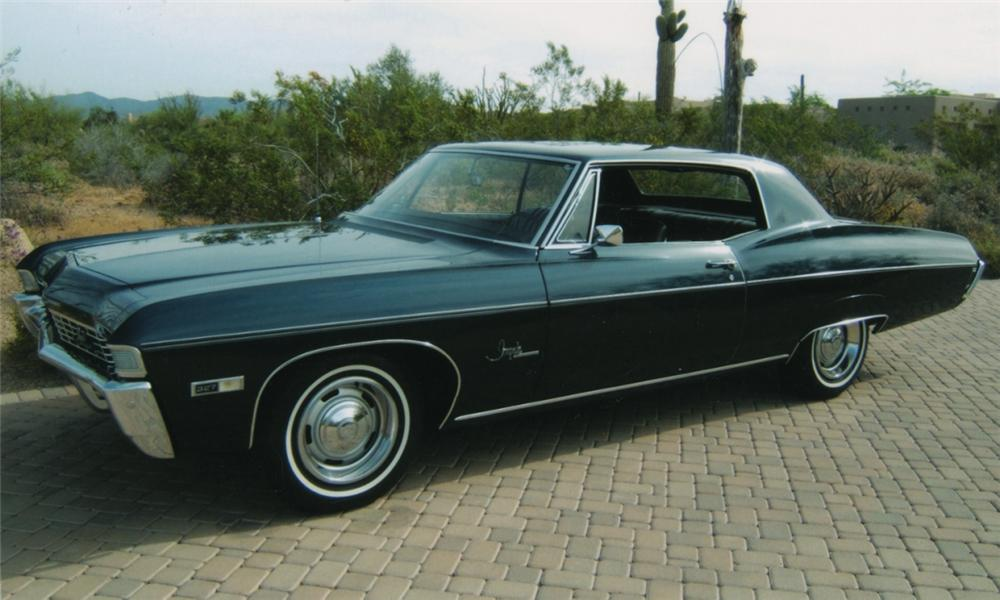 1968 CHEVROLET IMPALA SS   - Side Profile - 16139