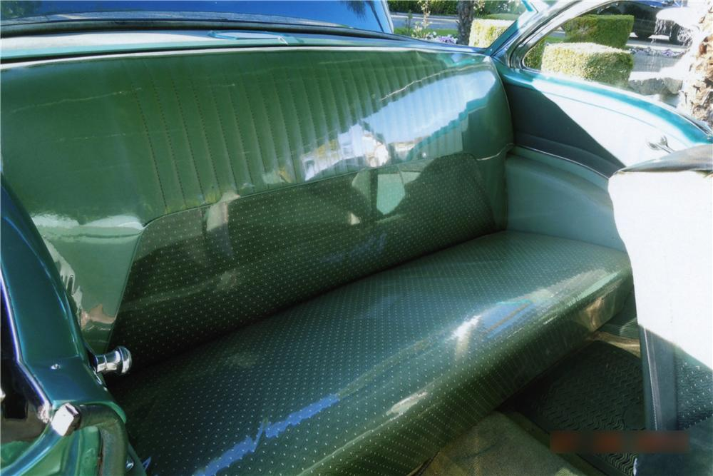 1955 OLDSMOBILE SUPER 88 2 DOOR HARDTOP - Interior - 161394