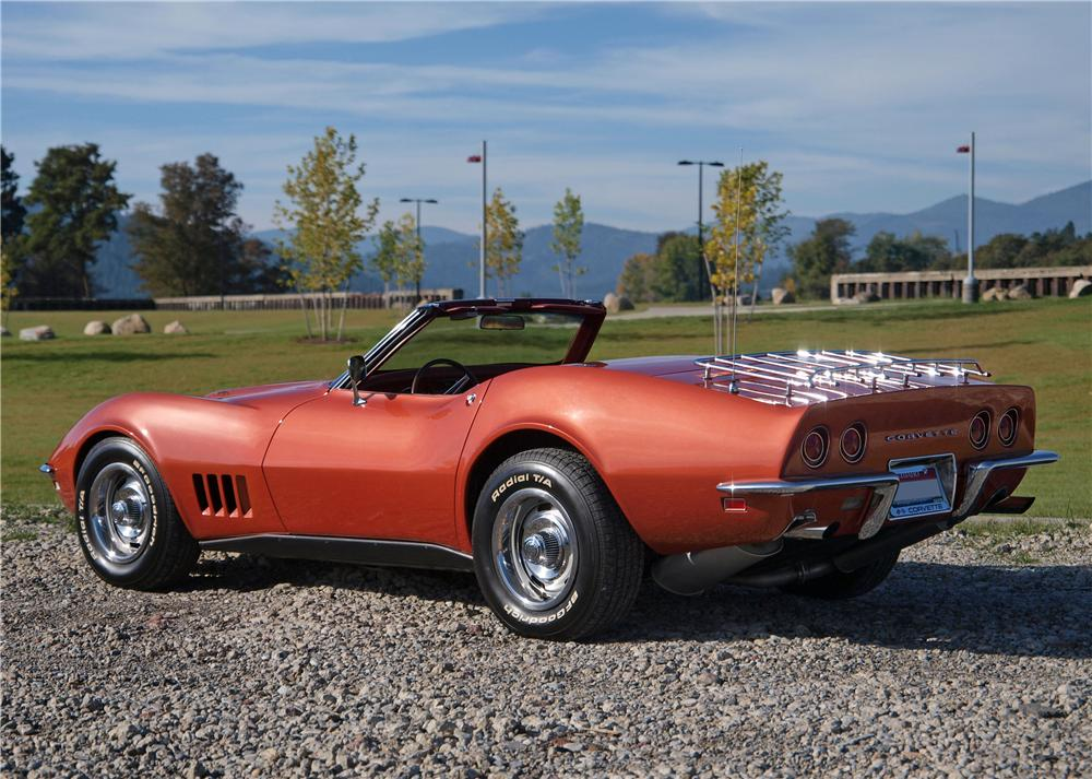 1968 chevrolet corvette convertible 161398. Black Bedroom Furniture Sets. Home Design Ideas