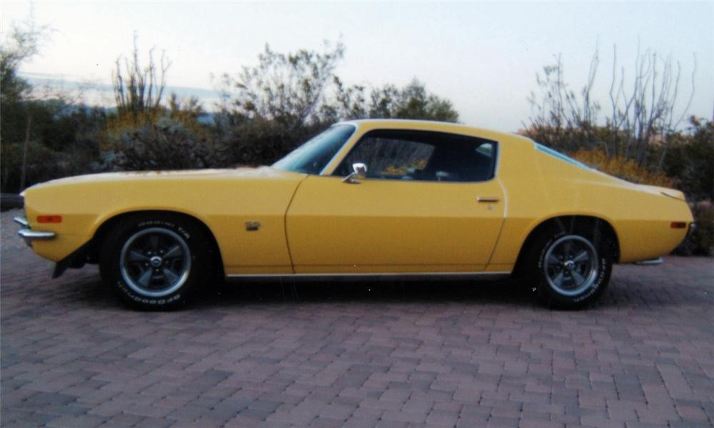 1970 CHEVROLET CAMARO SS   - Side Profile - 16140