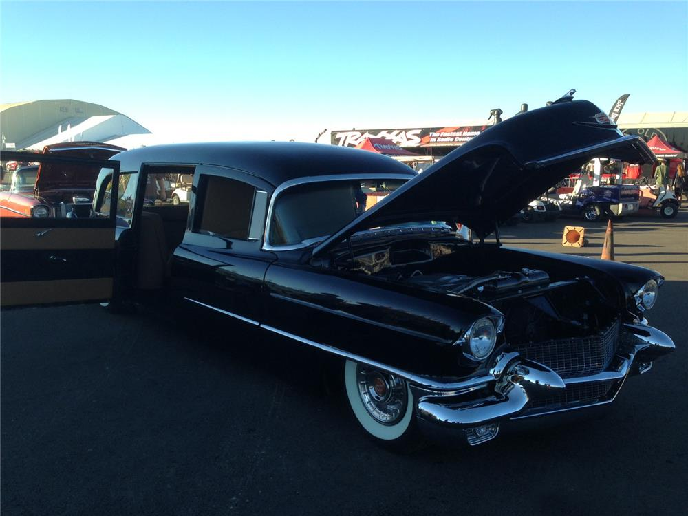1956 CADILLAC CUSTOM HEARSE - 161406