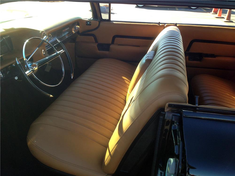 1959 CADILLAC CUSTOM 4 DOOR HARDTOP - Interior - 161407