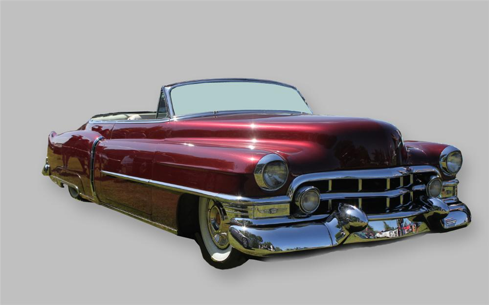 1951 CADILLAC CUSTOM ROADSTER - Front 3/4 - 161408