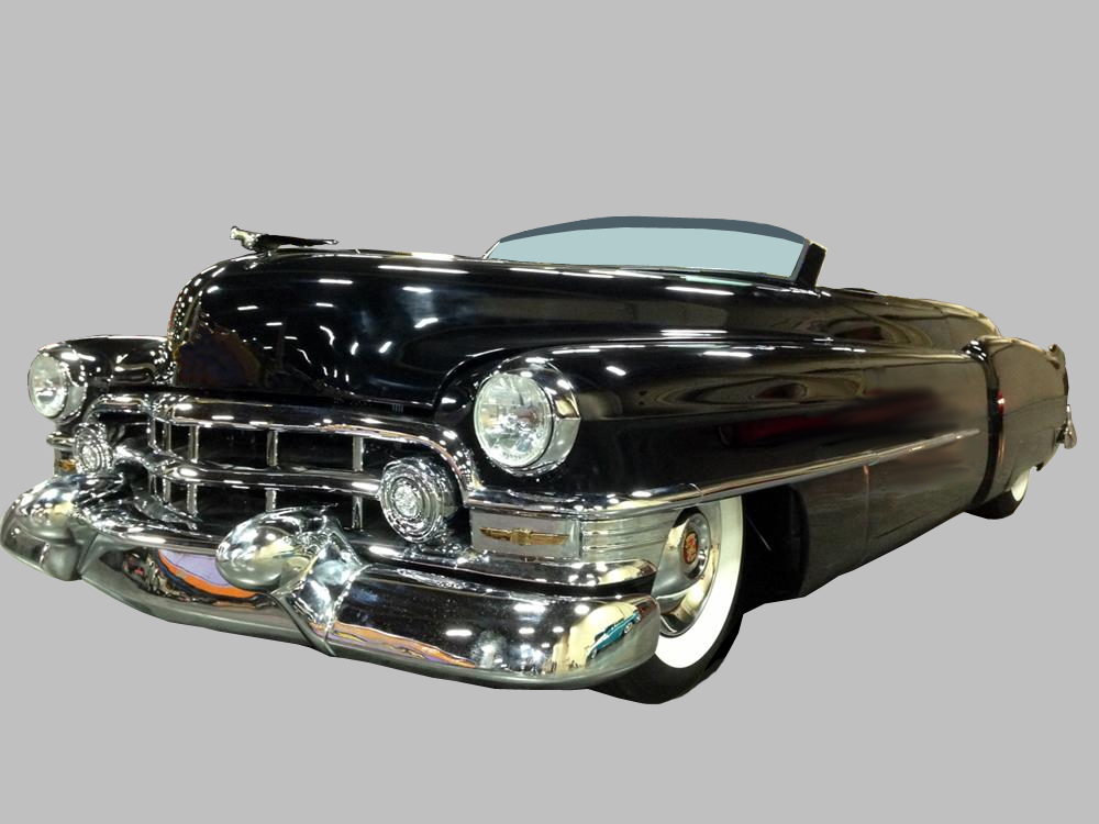 1950 CADILLAC CUSTOM TOPLESS ROADSTER - Front 3/4 - 161409