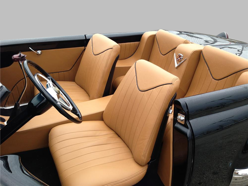 1950 CADILLAC CUSTOM TOPLESS ROADSTER - Interior - 161409