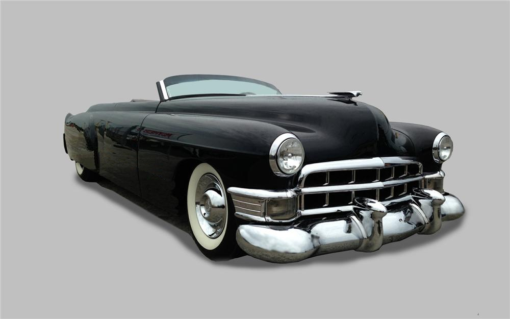 1948 CADILLAC CUSTOM TOPLESS ROADSTER - Front 3/4 - 161410