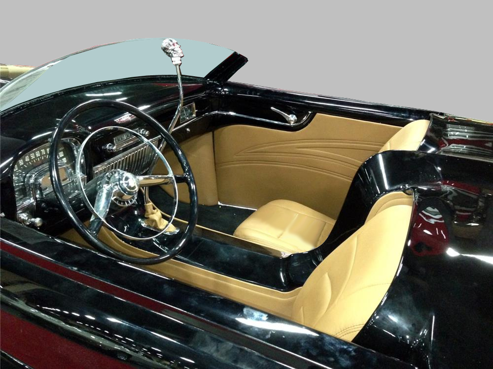 1948 CADILLAC CUSTOM TOPLESS ROADSTER - Interior - 161410