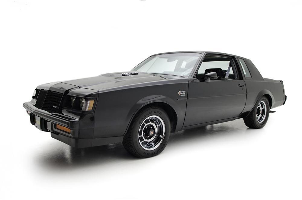 1987 BUICK GRAND NATIONAL 2 DOOR COUPE - Side Profile - 161415