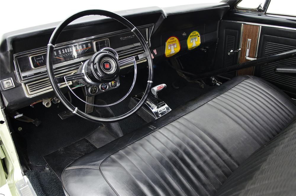 1967 FORD FAIRLANE 500 CONVERTIBLE RACE CAR - Interior - 161420