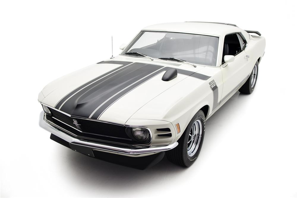 1970 FORD MUSTANG BOSS 302 FASTBACK - Front 3/4 - 161423